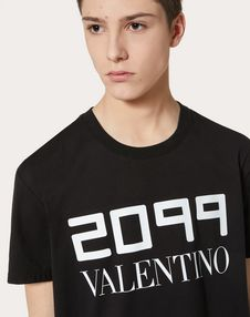 T-SHIRT WITH 2099 VALENTINO PRINT
