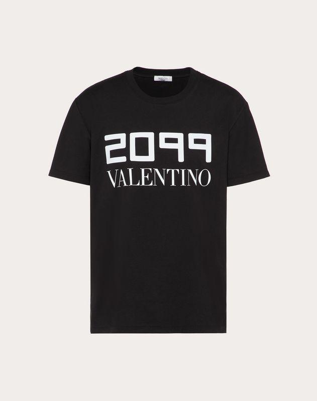 T-SHIRT CON STAMPA 2099 VALENTINO
