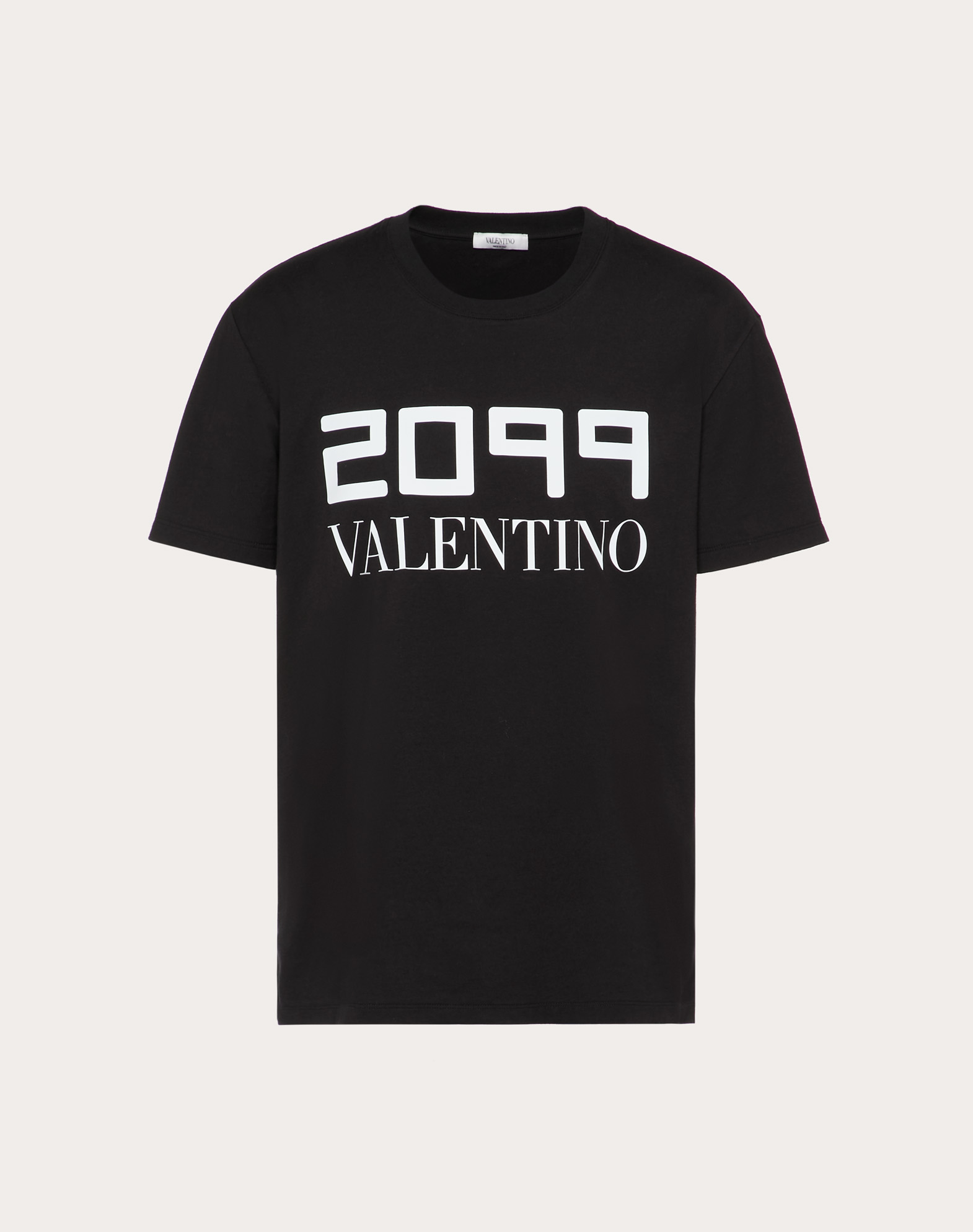 T-SHIRT WITH 2099 VALENTINO PRINT