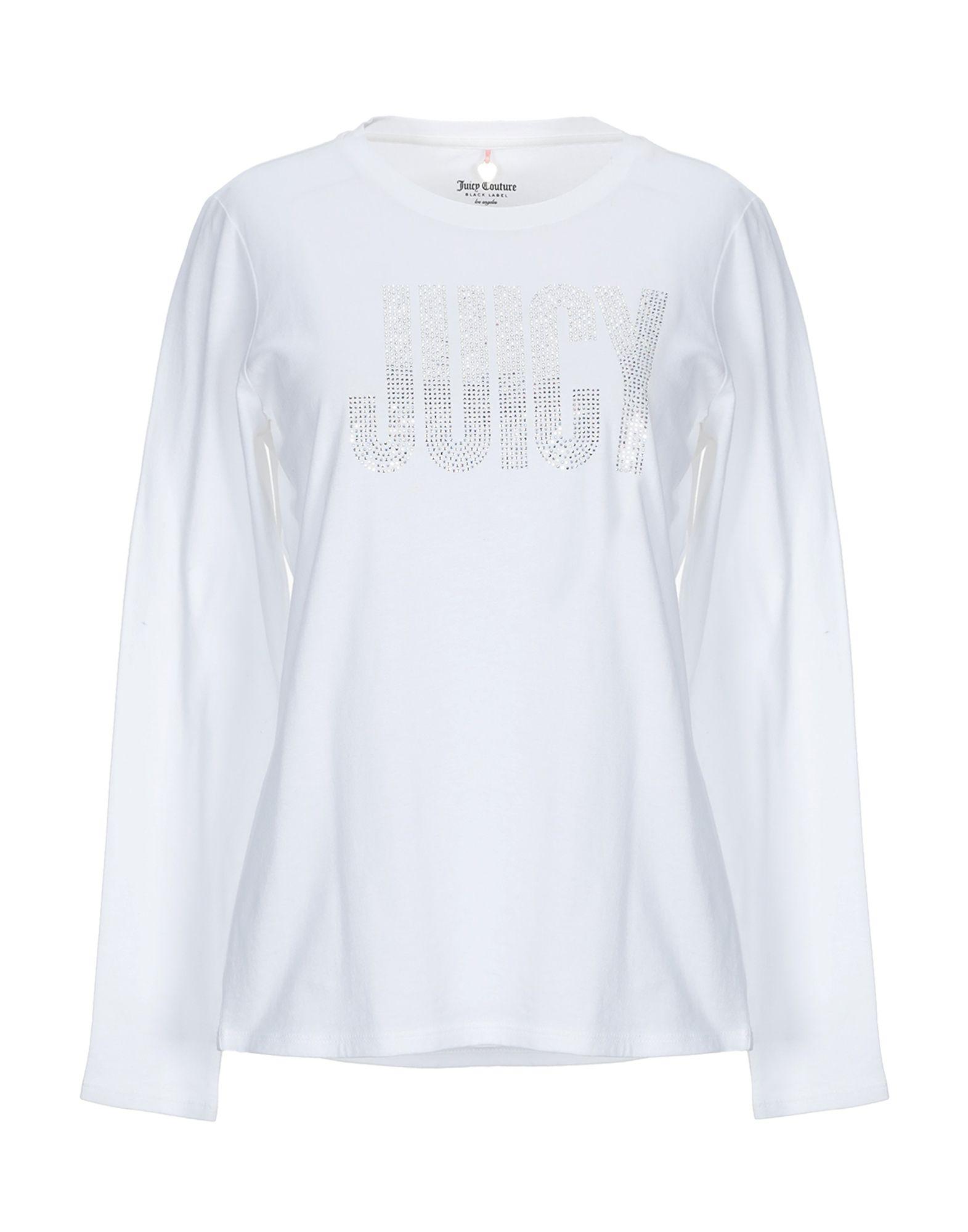 《送料無料》JUICY COUTURE レディース T シャツ ホワイト M コットン 100%