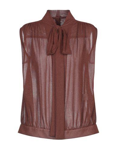 Купить Женский свитер NORA BARTH ржаво-коричневого цвета