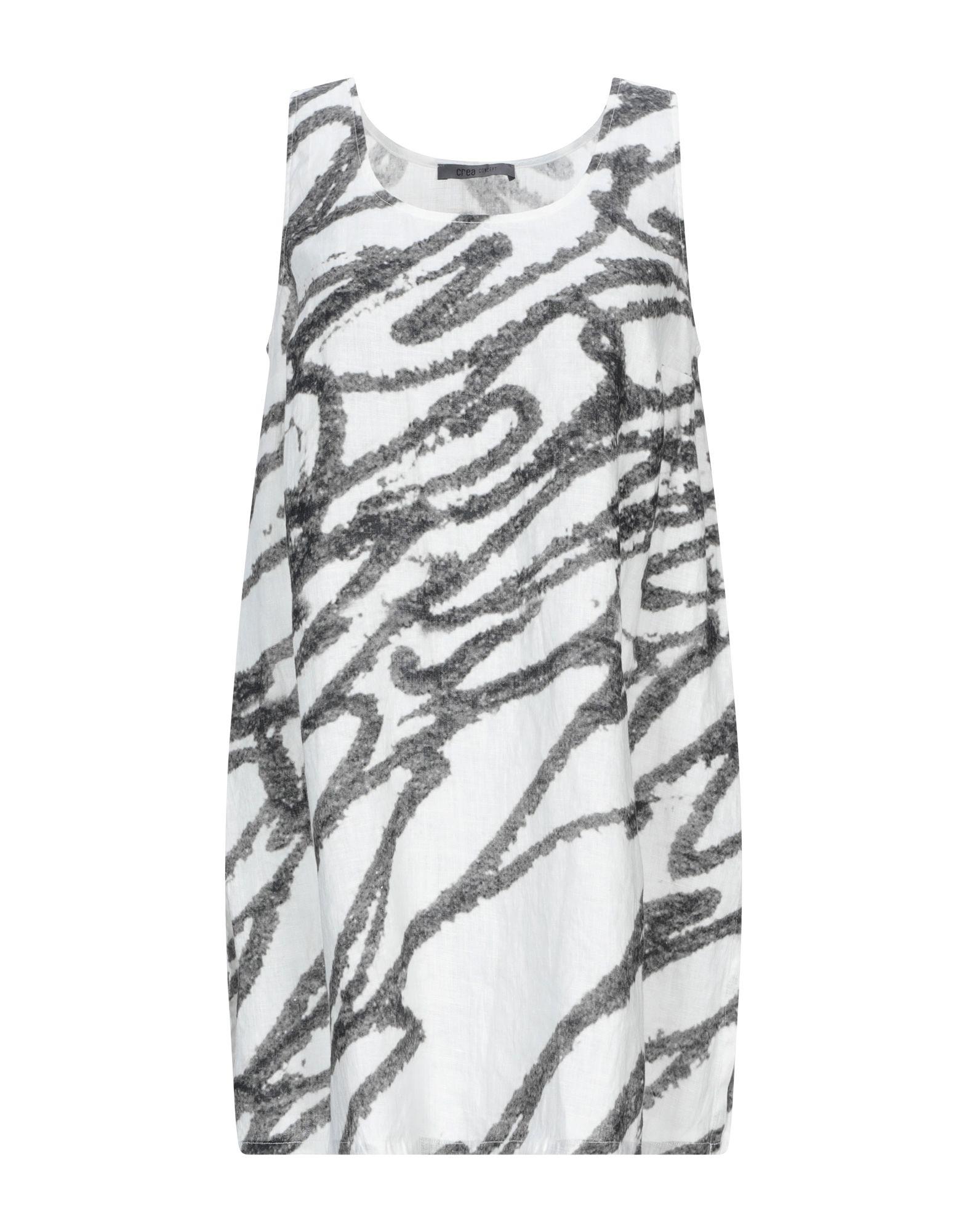 CREA CONCEPT Топ без рукавов джемпер для девочки concept club aurelius цвет разноцветный 10210310013 8000 размер 134