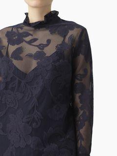 Sheer floral top