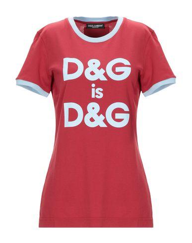 Купить Женскую футболку  кирпично-красного цвета