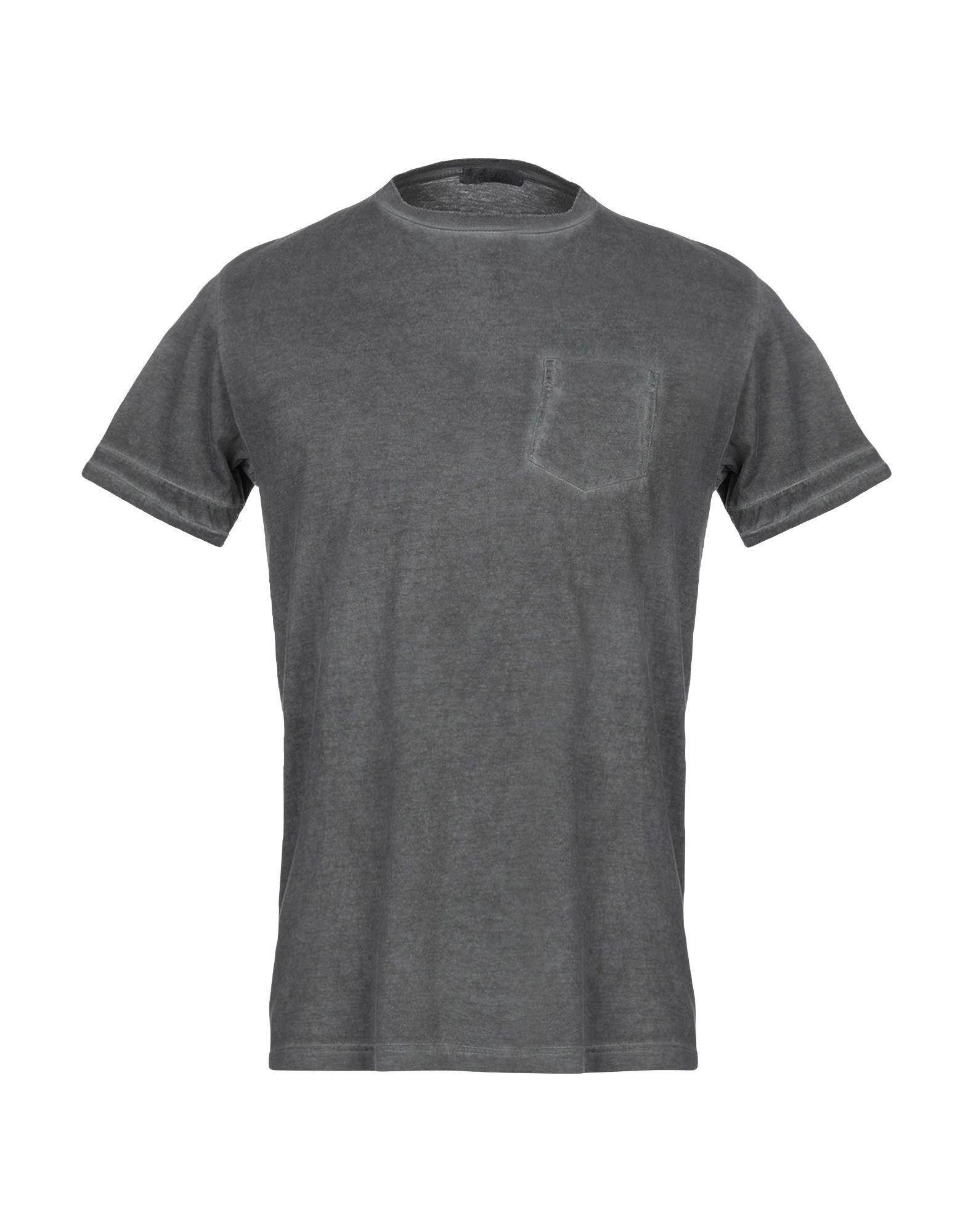 《送料無料》CROSSLEY メンズ T シャツ 鉛色 M コットン 100%