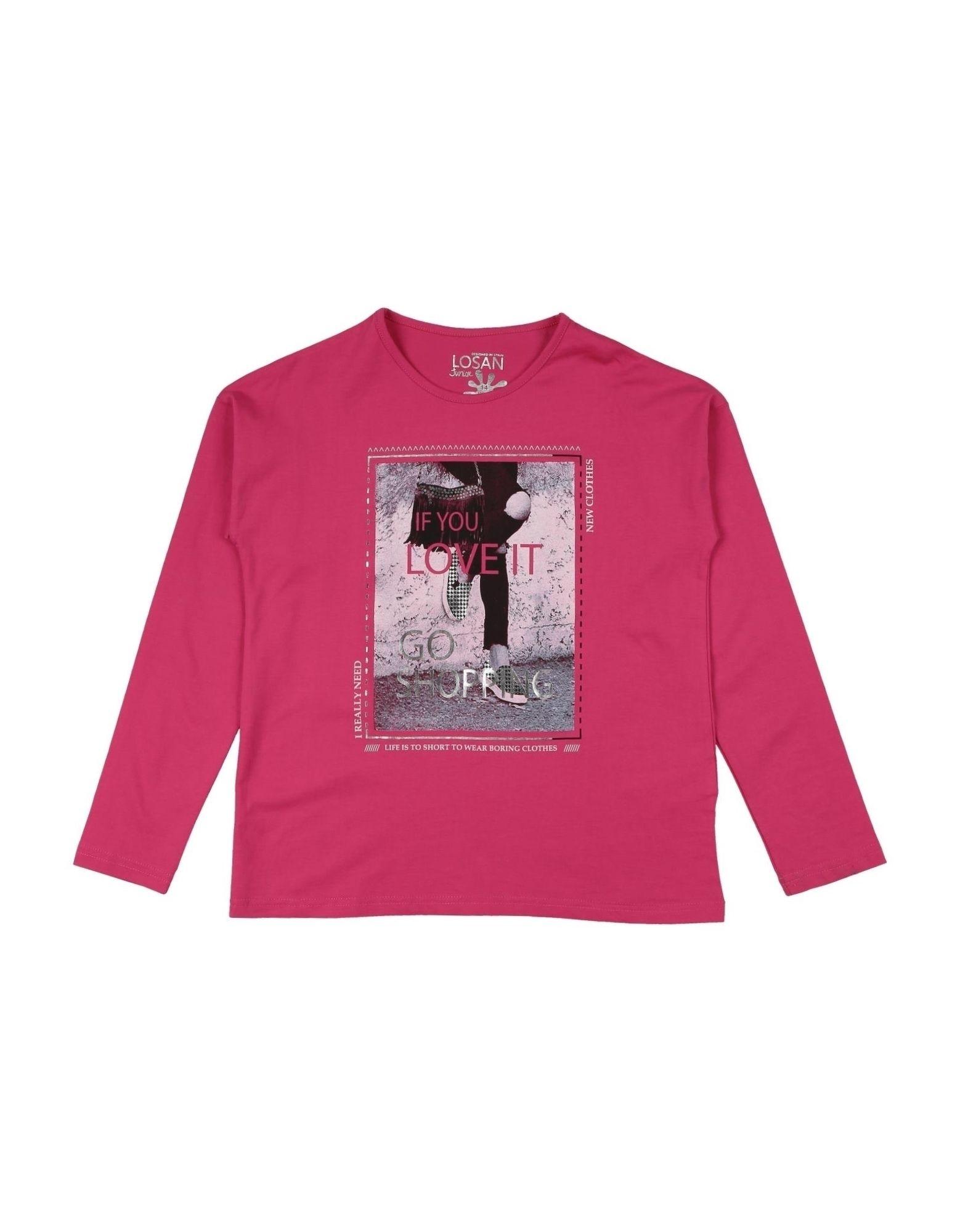 Losan Kids' T-shirts In Pink