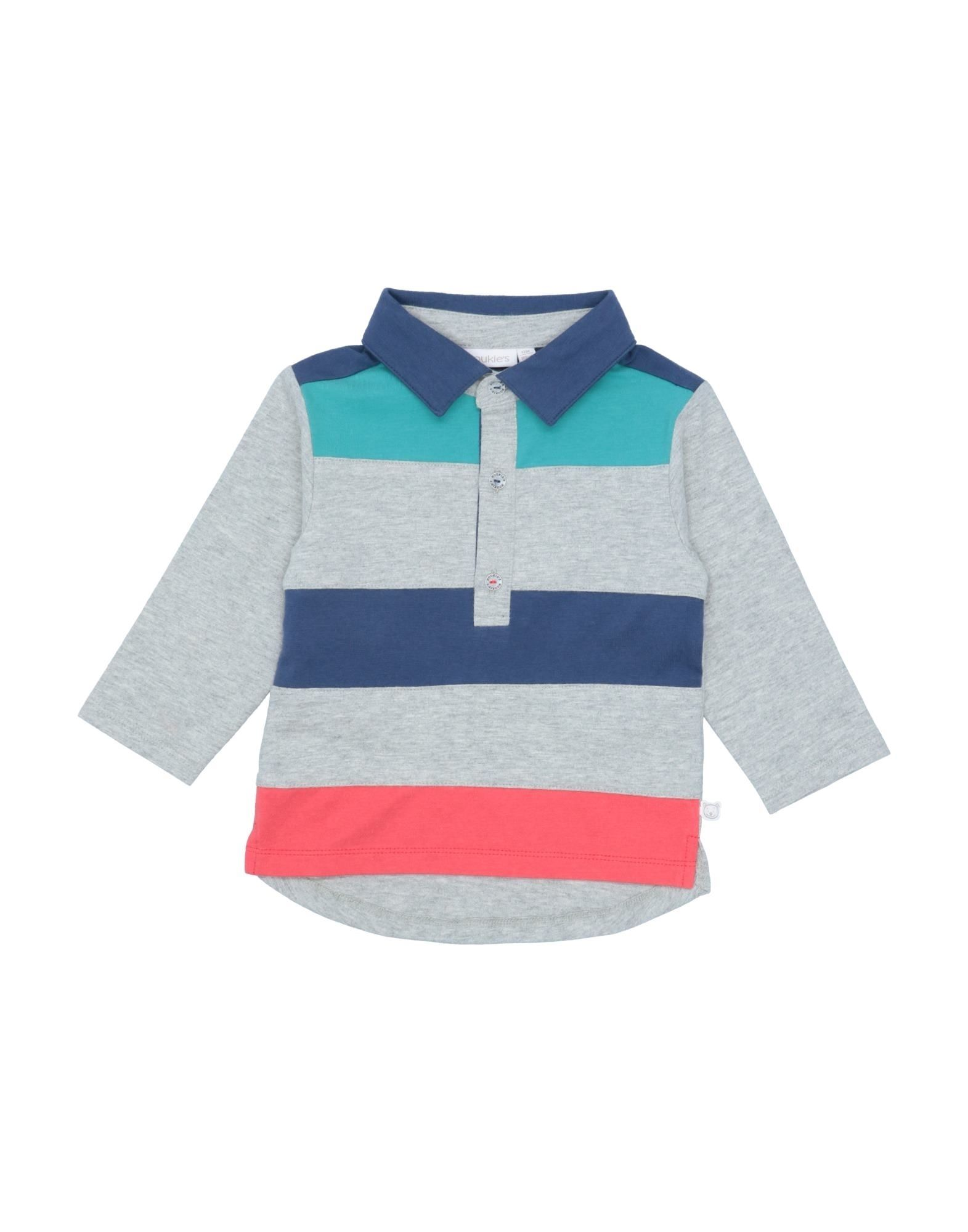 Noukie's Kids' Polo Shirts In Gray