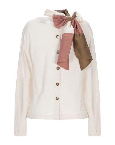 Фото 2 - Женский свитер  бежевого цвета