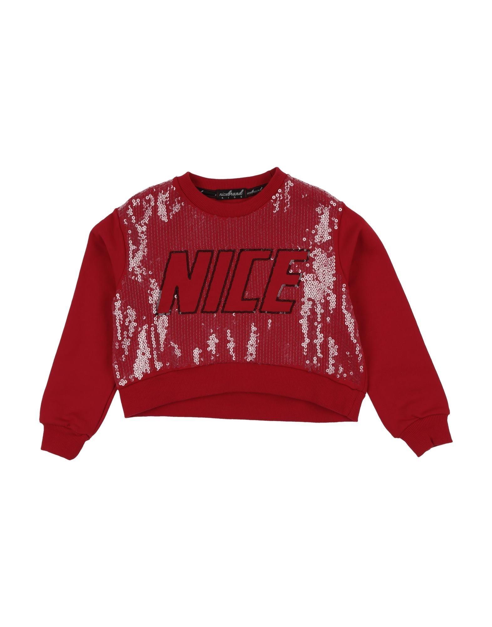 Nicebrand Kids' Sweatshirts In Red