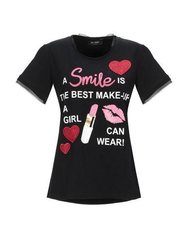 Купить Женскую футболку MY TWIN TWINSET черного цвета