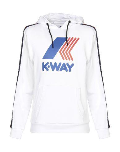 Фото - Мужскую толстовку KAPPA x K-WAY белого цвета