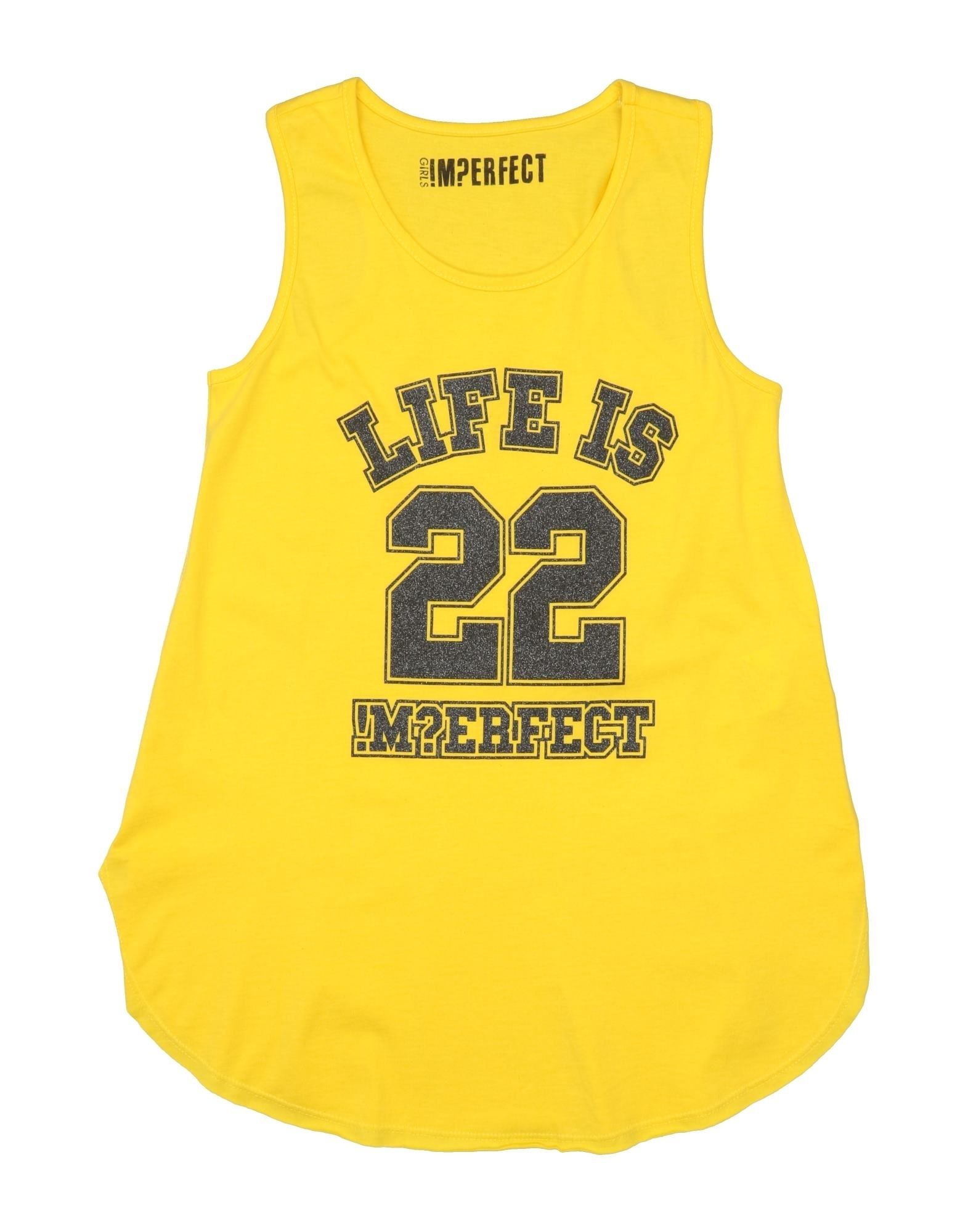 !m?erfect Kids'  T-shirts In Yellow