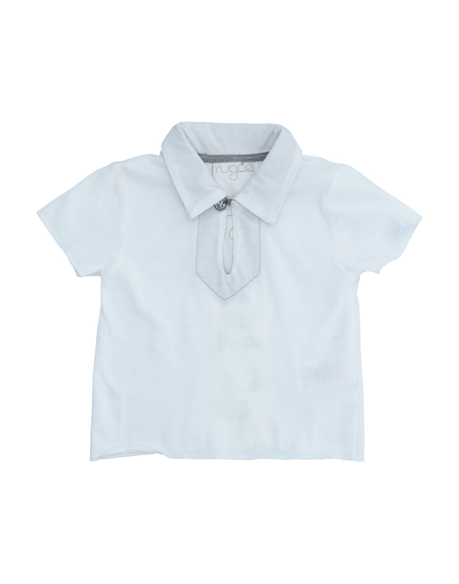 Frugoo Kids' Polo Shirts In White