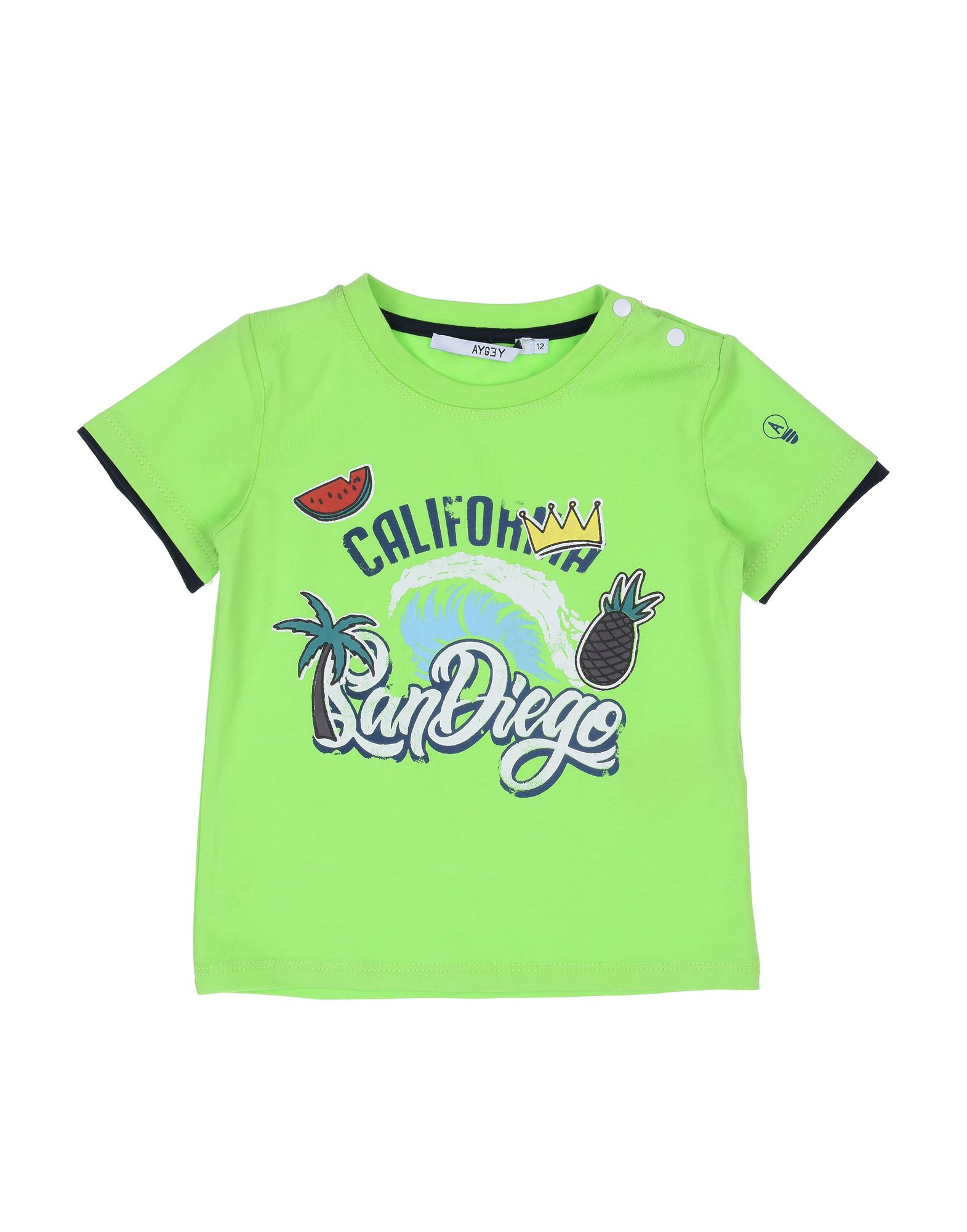 Aygey Kids' T-shirts In Green
