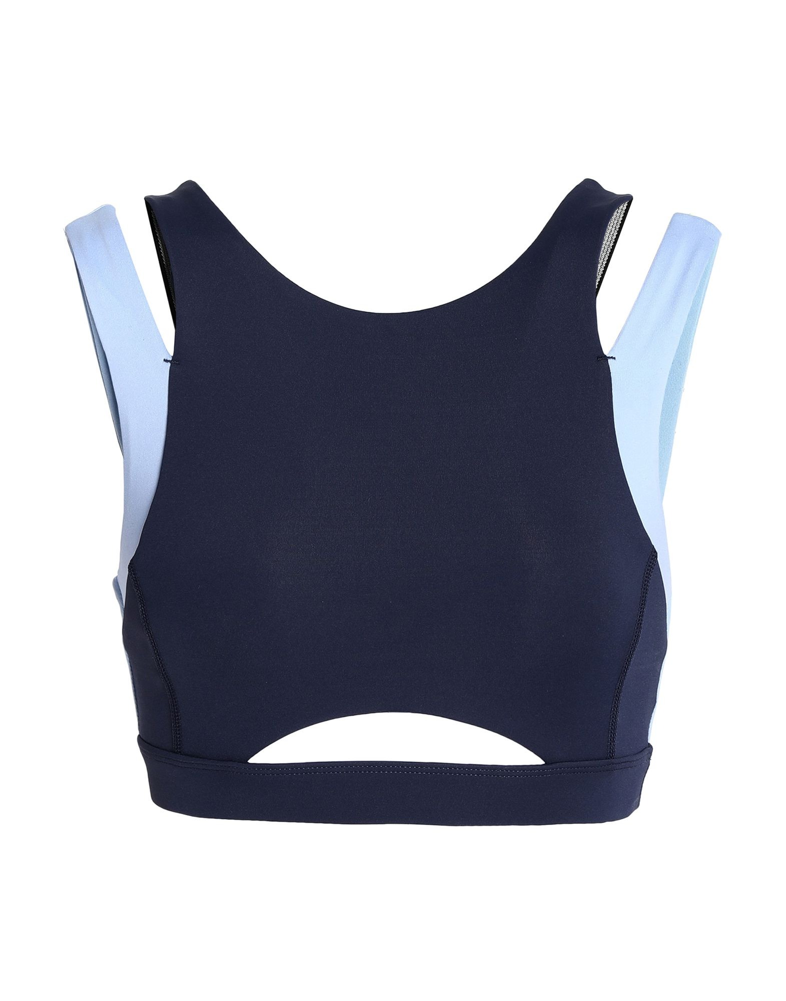 Фото - PURITY ACTIVE Топ без рукавов active cut out elastic vest in navy