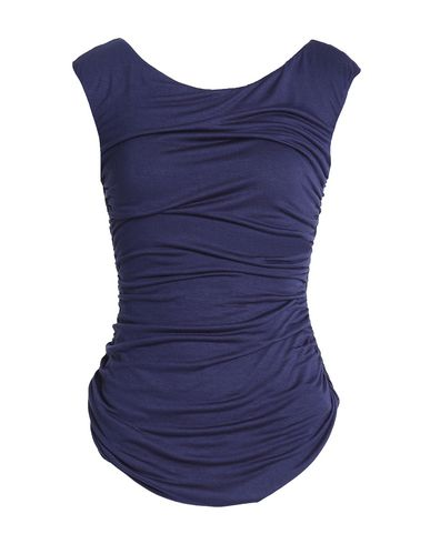 Фото - Женскую футболку BAILEY 44 темно-синего цвета