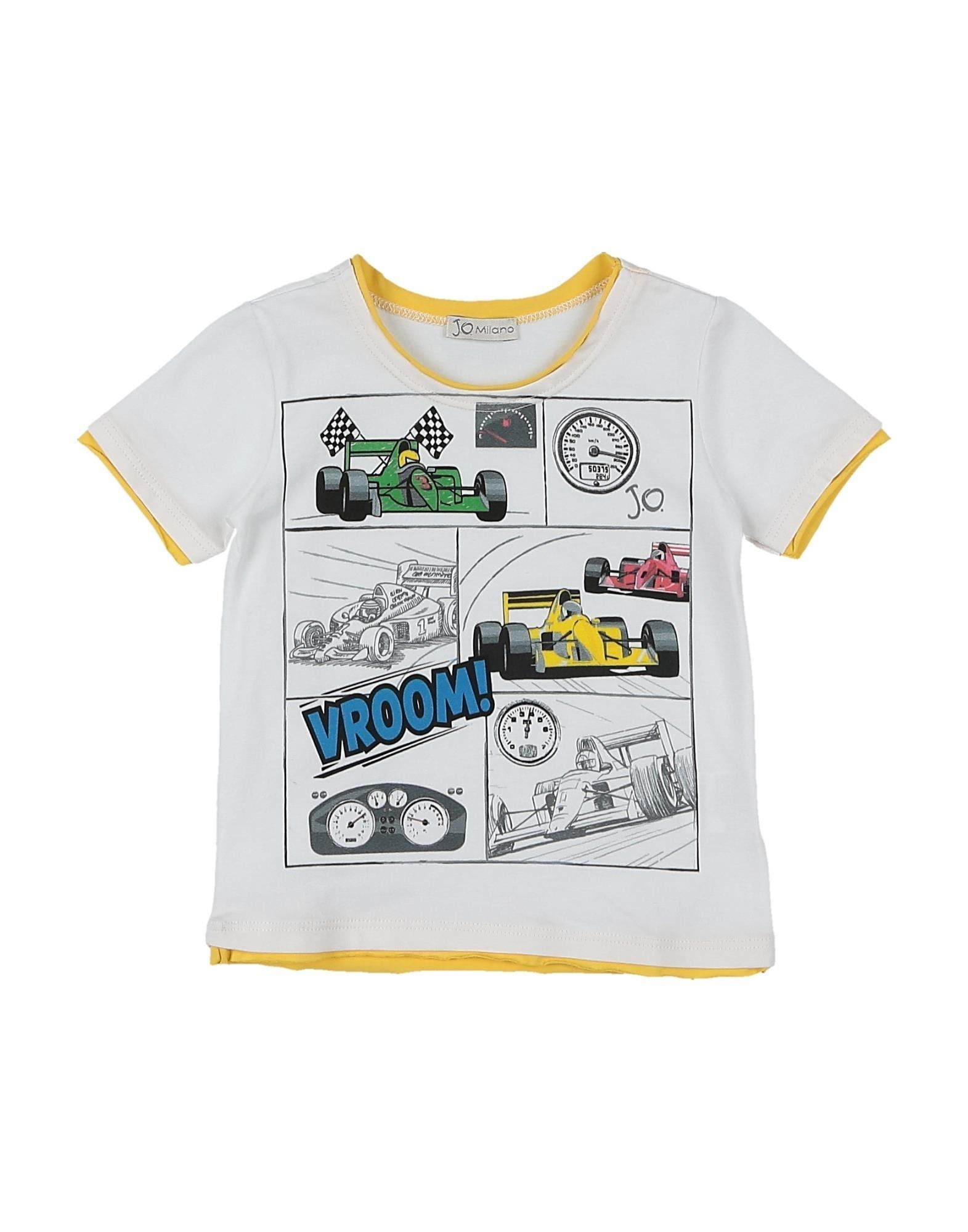 J.o. Milano Kids' T-shirts In White