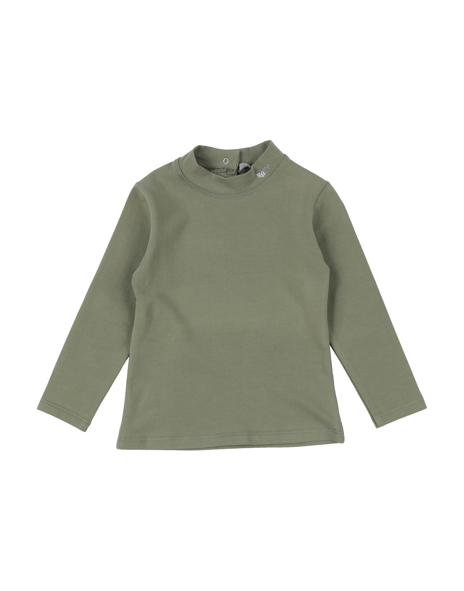 Gas Kids' T-shirts In Green