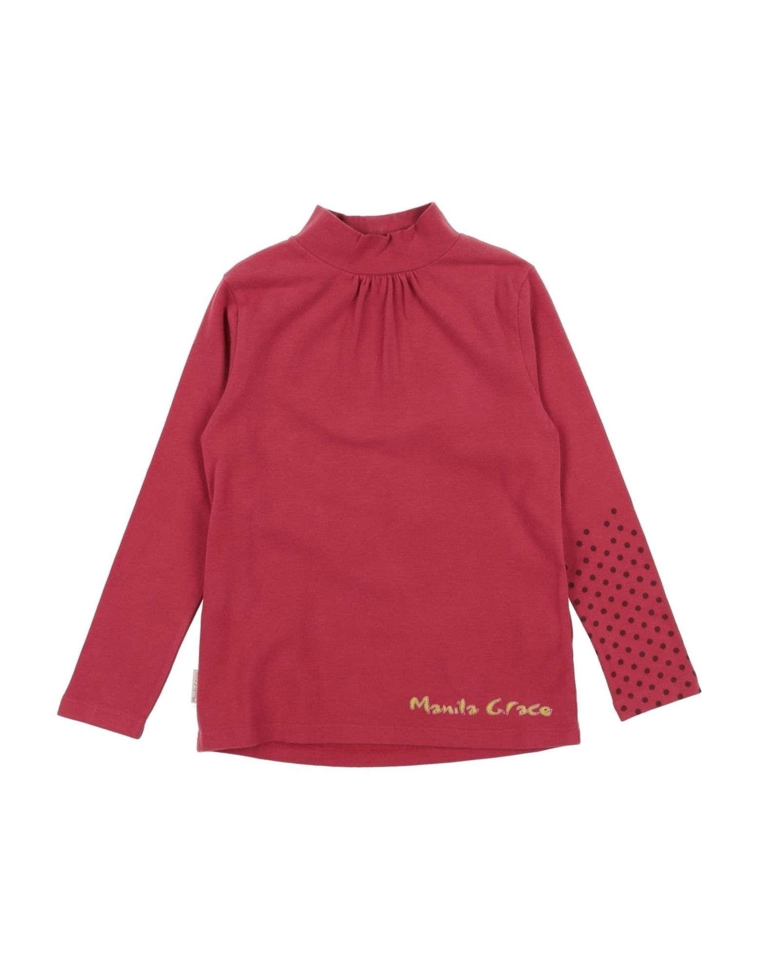 Manila Grace Kids' T-shirts In Red