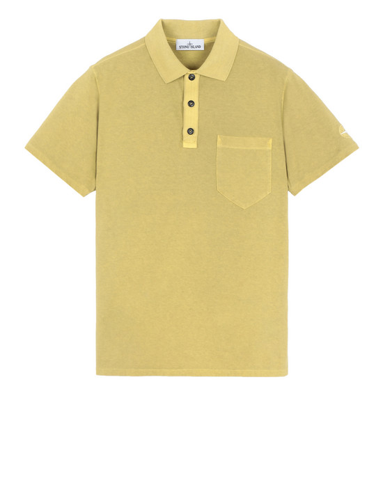 Polo shirt 21442 'FISSATO' DYE TREATMENT STONE ISLAND - 0