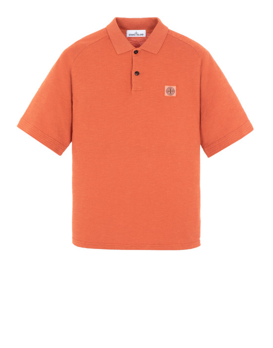 STONE ISLAND 20911 Polo shirt Man Orange