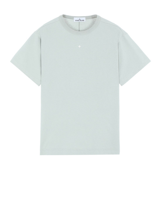 STONE ISLAND 21844 Short sleeve t-shirt Man Dust Grey