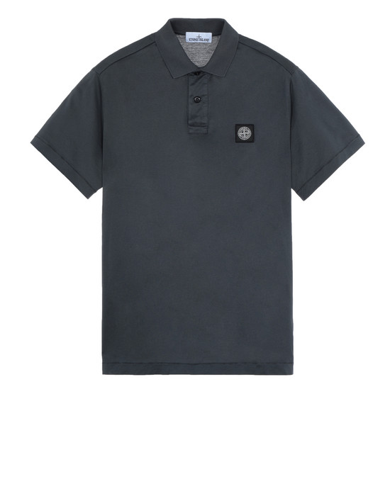 STONE ISLAND 22613 Polo shirt Man Dark Gray