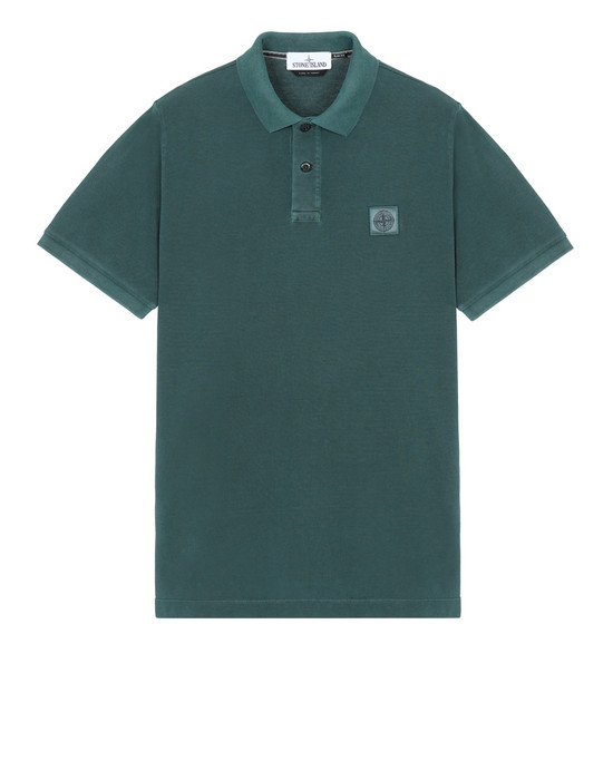 STONE ISLAND Polo 22S67 PIGMENT DYE TREATMENT