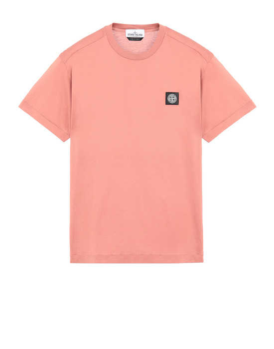 STONE ISLAND 24113 Short sleeve t-shirt Man Rust