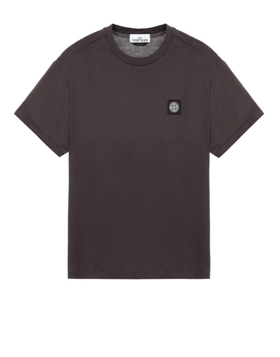 STONE ISLAND 24113 Short sleeve t-shirt Man Dark Brown