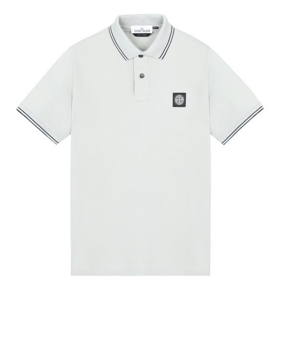 STONE ISLAND 22S18 ポロシャツ メンズ ダストグレー