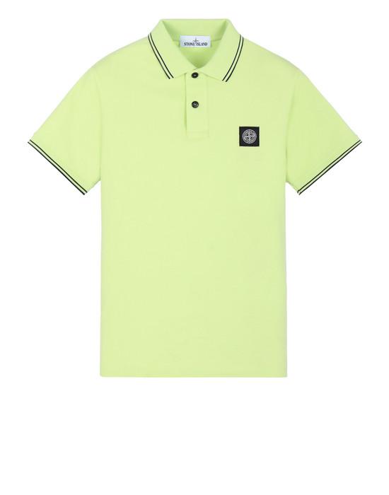 STONE ISLAND 22S18 Polo shirt Man Pistachio Green