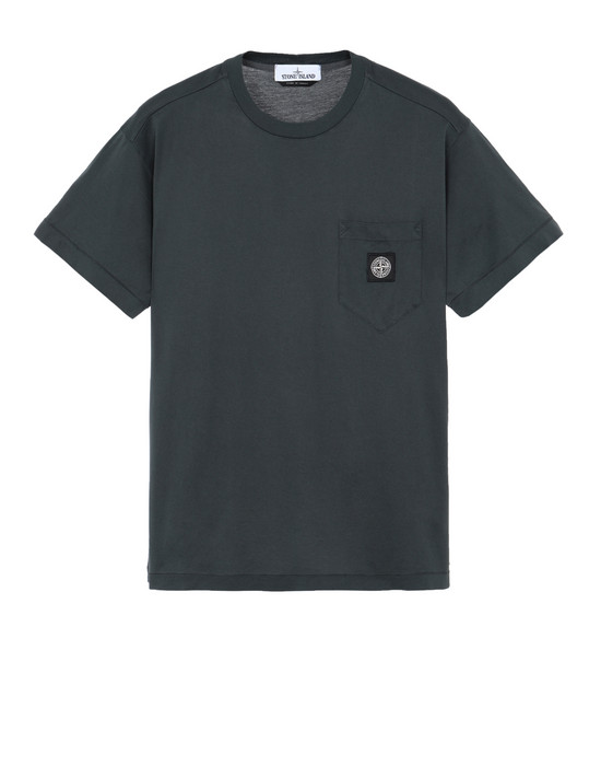 STONE ISLAND 20113 Short sleeve t-shirt Man Dark Grey