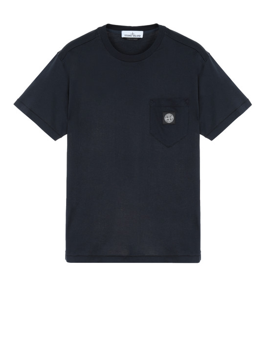 STONE ISLAND 20113 Short sleeve t-shirt Man Blue