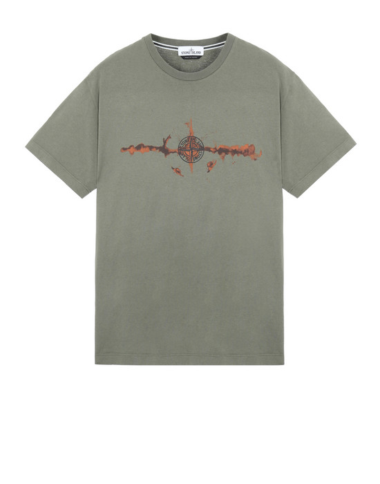 STONE ISLAND 2NS85 'GRAPHIC SIX'  Short sleeve t-shirt Man