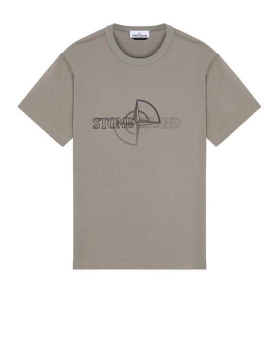 STONE ISLAND 23381 'GRAPHIC TWO' Short sleeve t-shirt Man Mud