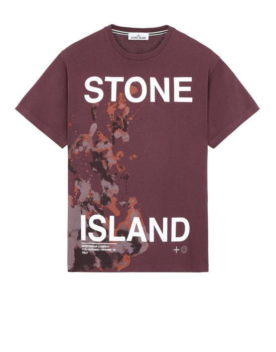 """短袖 T 恤 2NS86""""GRAPHIC SEVEN"""" STONE ISLAND - 0"""