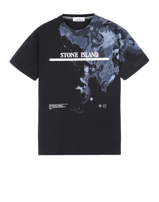 STONE ISLAND Short sleeve t-shirt 2NS87 'GRAPHIC EIGHT'