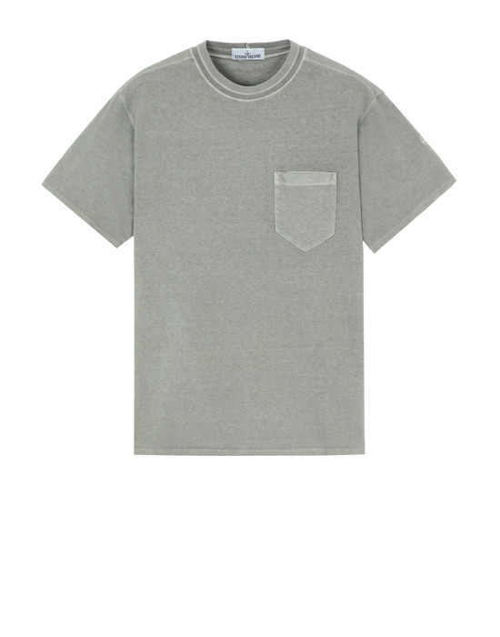 STONE ISLAND Short sleeve t-shirt 20342 'FISSATO' DYE TREATMENT