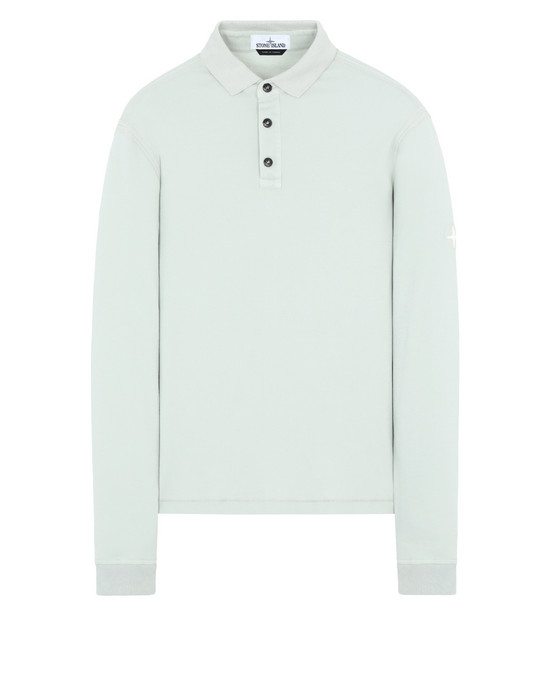 STONE ISLAND 21045 Polo shirt Man Dust Gray