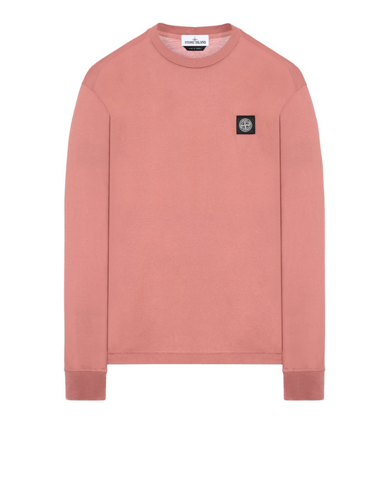 STONE ISLAND 22713 Long sleeve t-shirt Man Rust