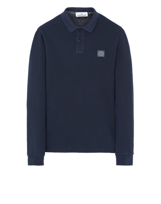 STONE ISLAND Polo shirt 2SS67 PIGMENT DYE TREATMENT