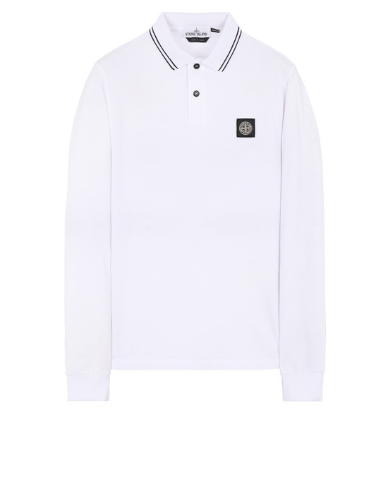 STONE ISLAND 2SS18 Polo shirt Man White
