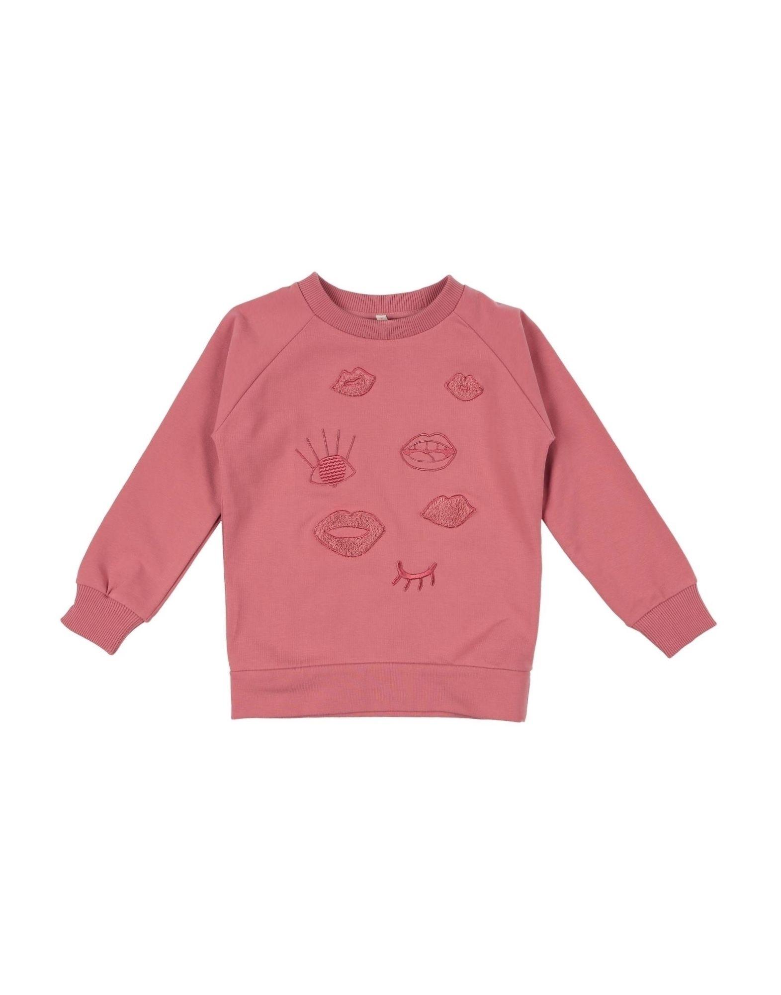 Iglo+indi Kids' Sweatshirts In Pink