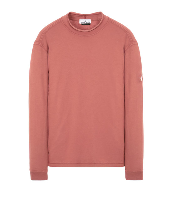 STONE ISLAND 20845 Long sleeve t-shirt Man Rust