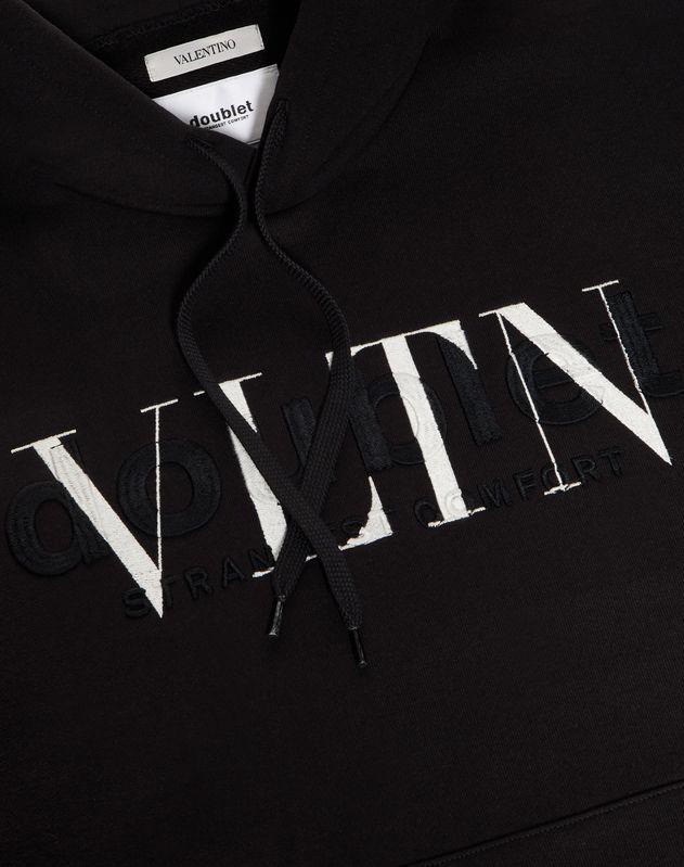 Doublet 联名 VLTN/DOUBLET 连帽款卫衣