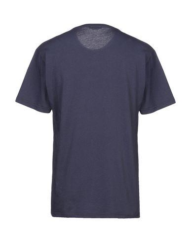 Фото 2 - Женскую футболку DANIELE ALESSANDRINI HOMME темно-синего цвета