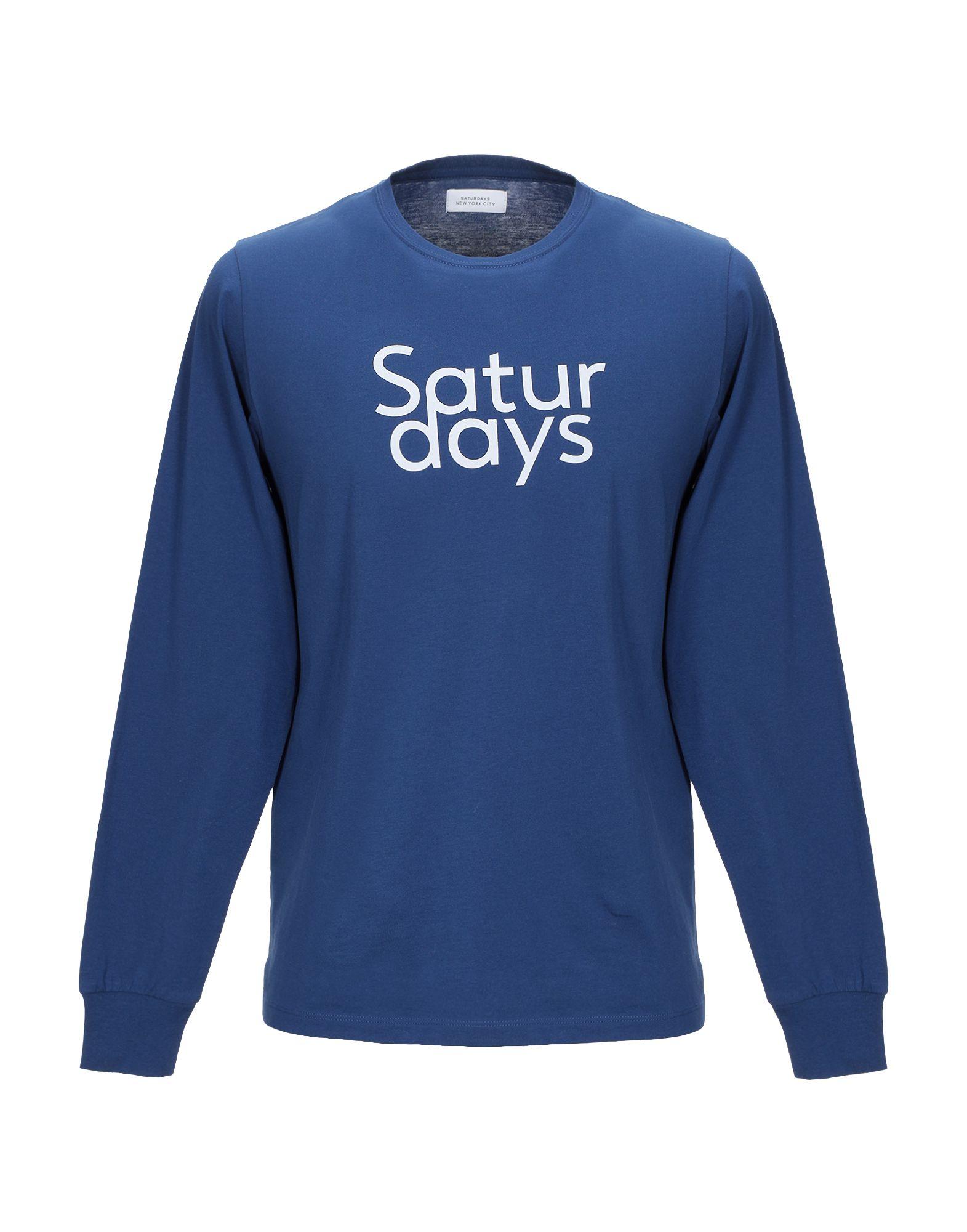 SATURDAYS NEW YORK CITY Футболка saturdays new york city джинсовая рубашка