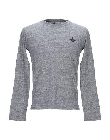 Купить Женскую футболку MACCHIA J серого цвета