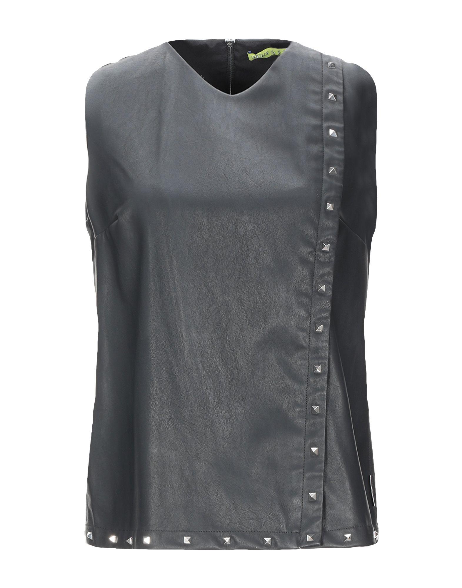 VERSACE JEANS Топ без рукавов топ versace jeans couture